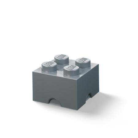 Immagine di Lego® Contenitore 4 Dark Grey