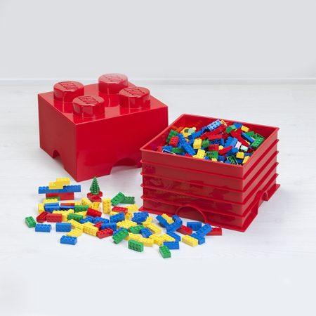 Lego® Contenitore Cassetto Aqua