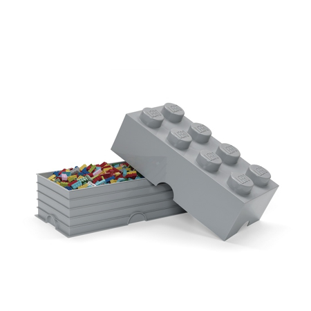 Immagine di Lego® Contenitore 8 Medium Stone Grey