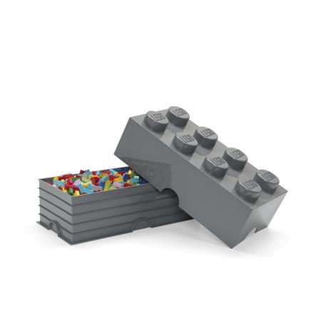 Immagine di Lego® Contenitore 8 Dark Grey
