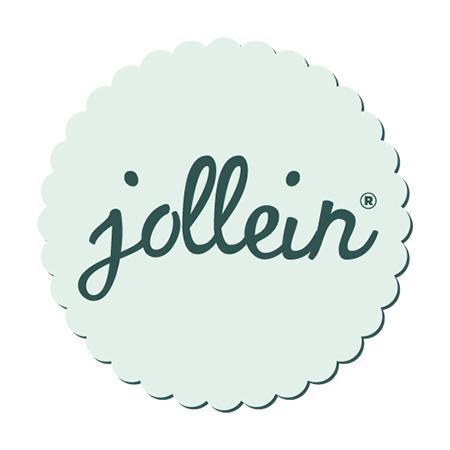 Immagine di Jollein® Bavaglino di cotone Snake Pale Pink 2 pezzi