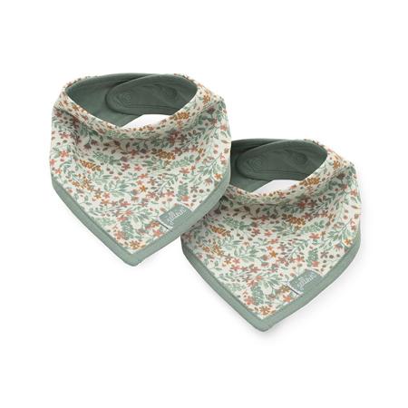 Immagine di Jollein® Bavaglino di cotone Bloom 2 pezzi