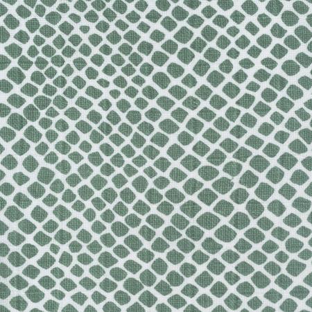 Jollein® Set di 3 mussole Snake Ash Green 31x31