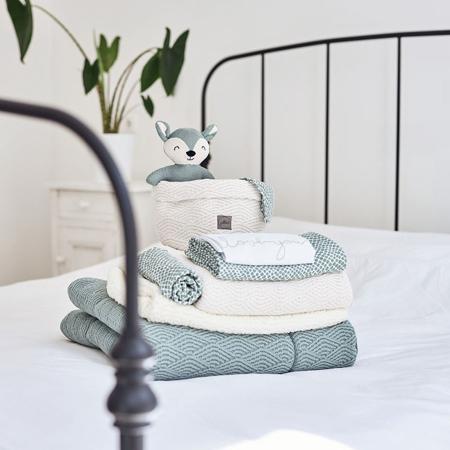 Immagine di Jollein® Set di 3 panni per il bagnetto Snake Pale Pink 15x21