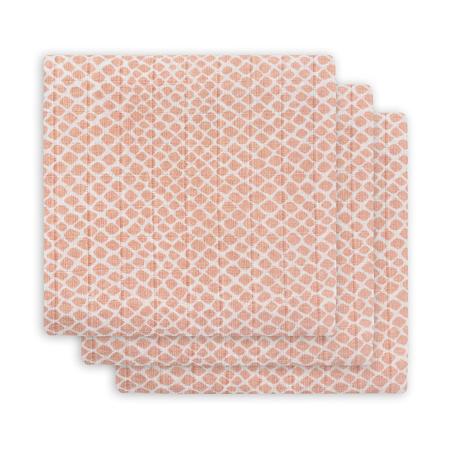 Immagine di Jollein® Panni multiuso  Snake Pale Pink 70x70