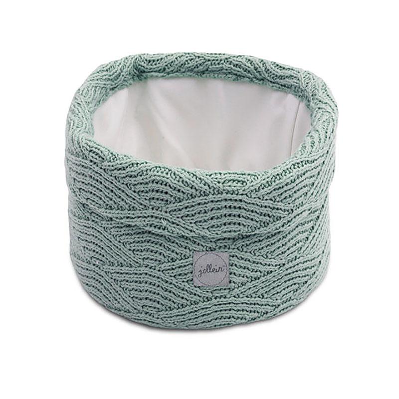 Immagine di Jollein® Contenitore River Knit Ash Green