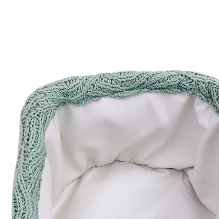 Jollein® Contenitore River Knit Ash Green