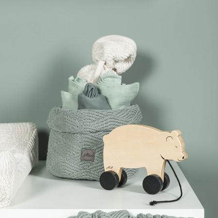 Immagine di Jollein® Contenitore River Knit Stone Green