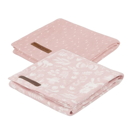 Immagine di Little Dutch® Set 2 mussole Adventure Pink 70x70