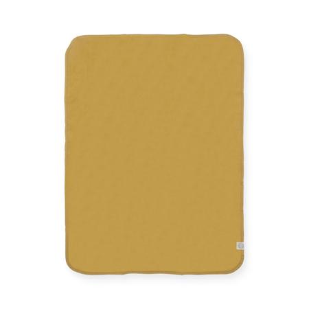Jollein® Coperta di cotone Mustard 75x100