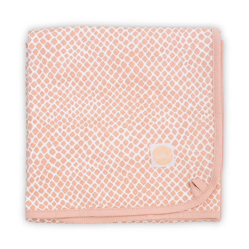 Immagine di Jollein® Coperta di cotone Snake Pale Pink 75x100