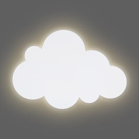 Jollein® Lampada da parete Nuvoletta White