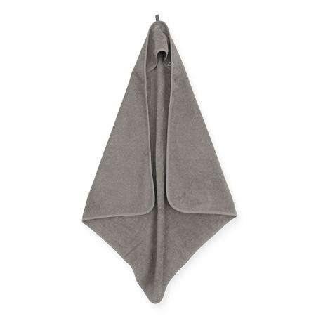 Jollein® Asciugamano con cappuccio Storm Grey 75x75