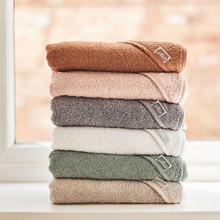 Immagine di Jollein® Asciugamano con cappuccio Storm Grey 75x75