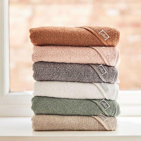 Immagine di Jollein® Asciugamano con cappuccio Pale Pink 75x75