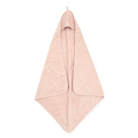 Jollein® Asciugamano con cappuccio Pale Pink 75x75