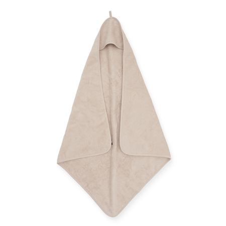 Jollein® Asciugamano con cappuccio Nougat 75x75