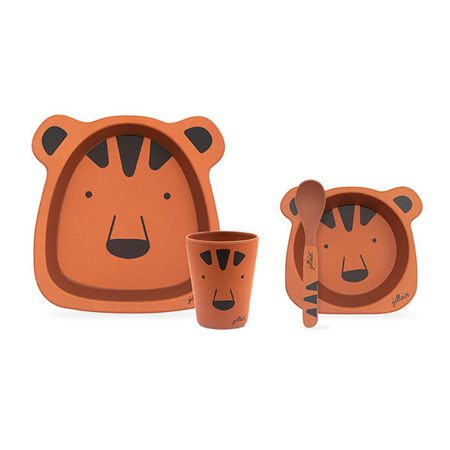 Immagine di Jollein® Set pappa Animal Club Rust