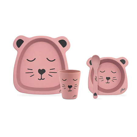 Immagine di Jollein® Set pappa  Animal Club Rouge