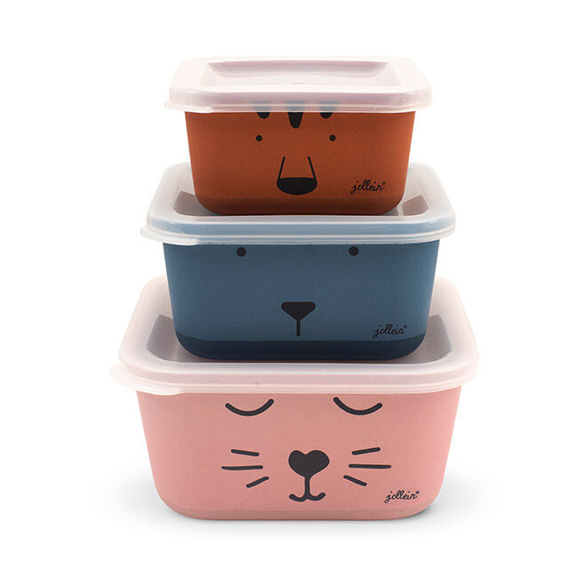Immagine di Jollein® Set di 3 contenitori