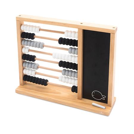 Immagine di Jollein® Calcolatrice in legno per bambini Black/Grey