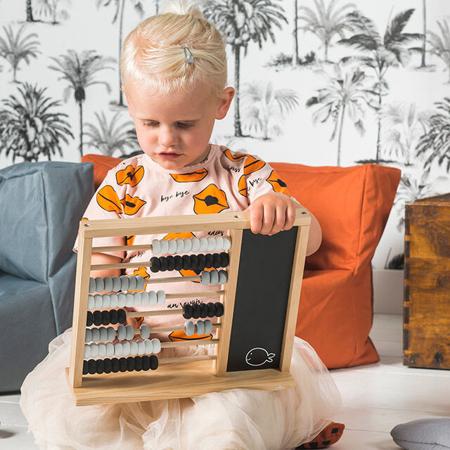Jollein® Calcolatrice in legno per bambini Black/Grey