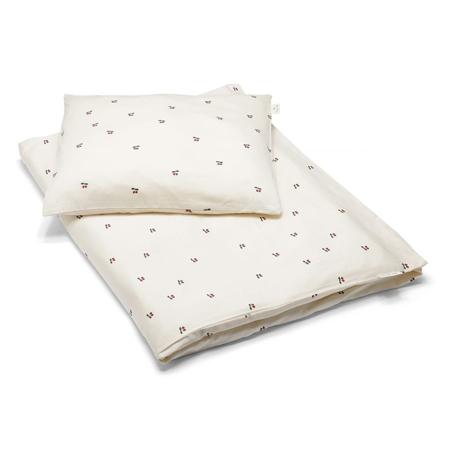 Konges Sløjd® Biancheria da letto Junior 100x140 Cherry
