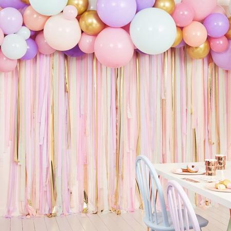 Immagine di Ginger Ray® Sfondo per le foto con palloncini Pastel