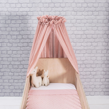 Jollein® Baldacchino per il lettino Vintage Blush Pink