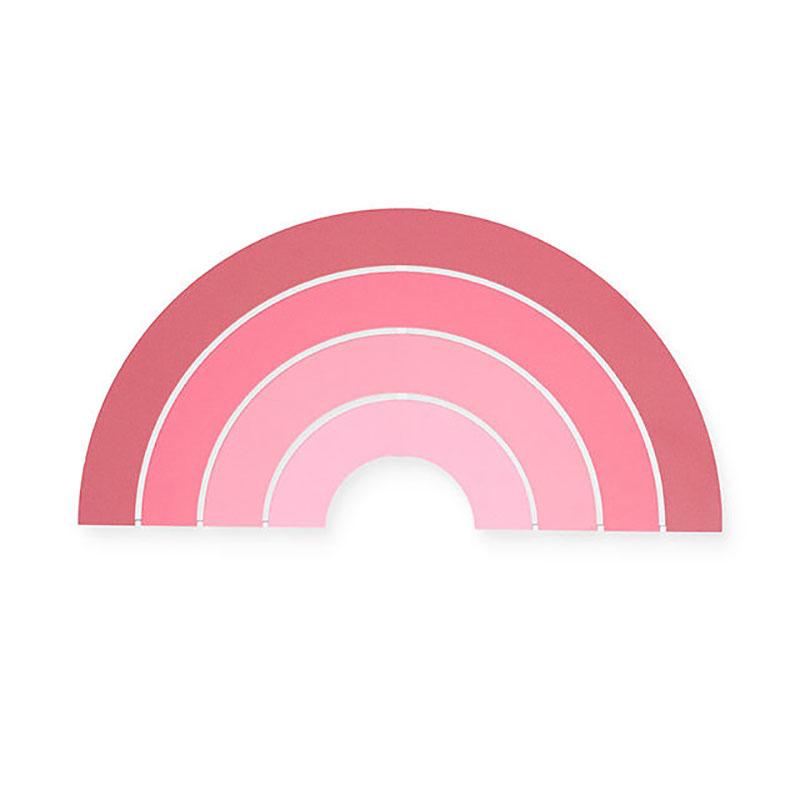 Immagine di Jollein® Lampada da parete Rainbow Blush Pink