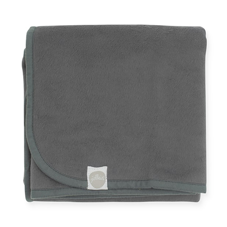 Jollein® Coperta di cotone Storm Grey 75x100
