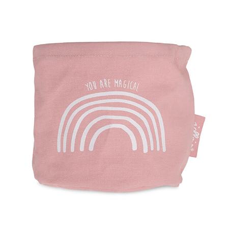 Immagine di Jollein® Contenitore Canvas Rainbow Blush Pink