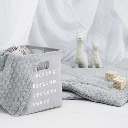 Jollein® Contenitore ABC Soft Grey