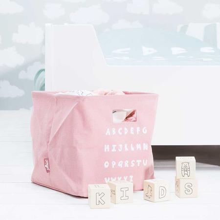 Jollein® Contenitore ABC Blush Pink