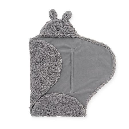 Jollein® Copertina per neonati Bunny Storm Grey 105x100