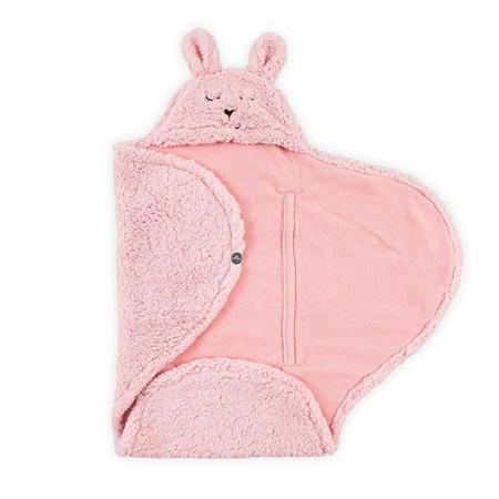 Jollein® Copertina per neonati Bunny Pink 105x100