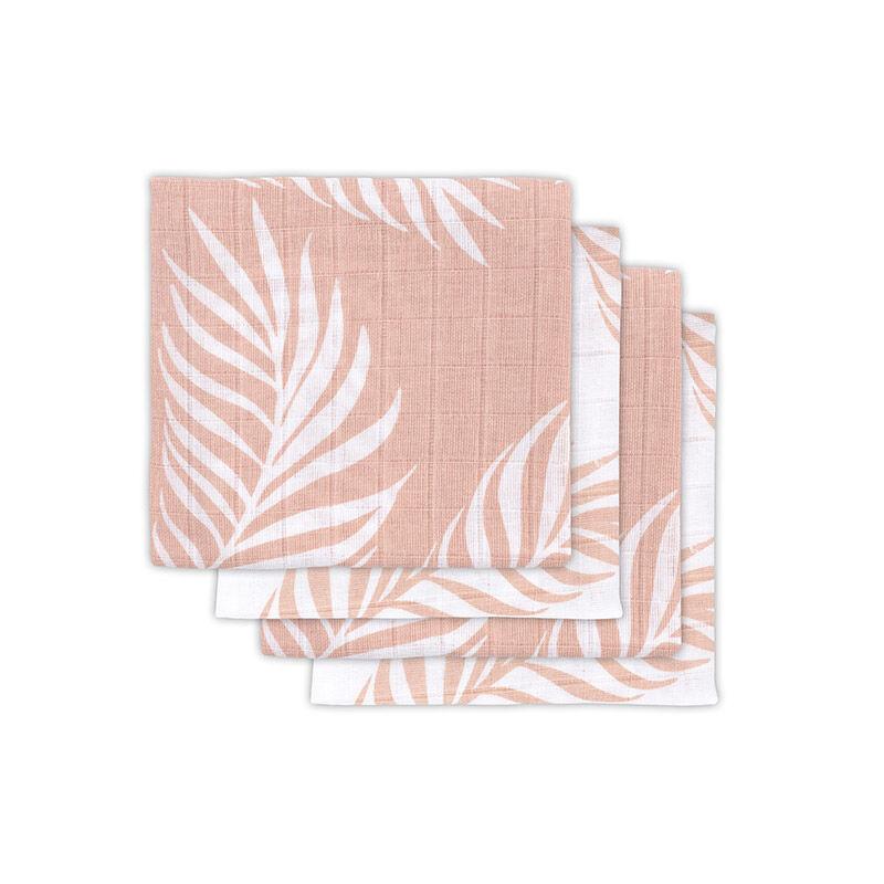 Immagine di Jollein® Set di 4 mussole Nature Pale Pink 70x70