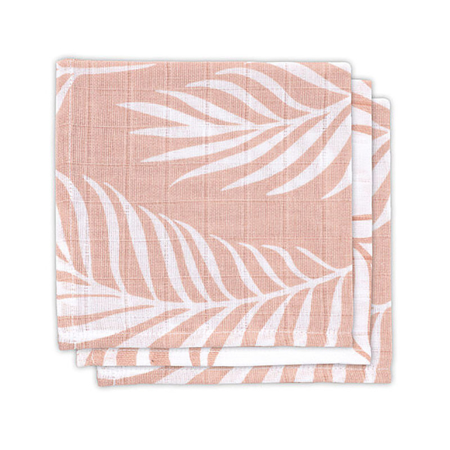 Immagine di Jollein® Set di 3 mussole Nature Pale Pink 31x31