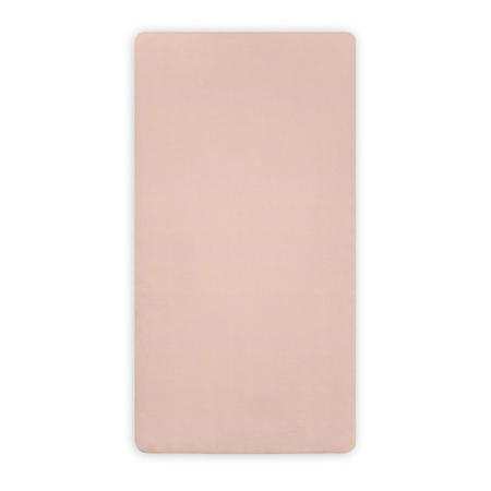 Jollein® Lenzuolo di cotone Pale Pink 120x60