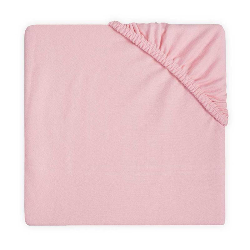 Immagine di Jollein® Lenzuolo di cotone Blush Pink 120x60