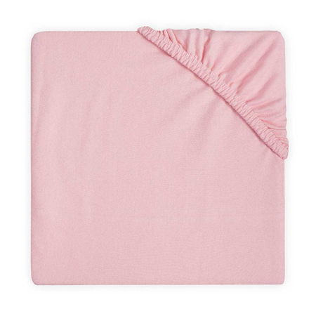 Jollein® Lenzuolo di cotone Blush Pink 120x60