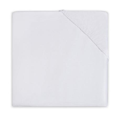 Jollein® Lenzuolo di cotone White 140x70/150x75