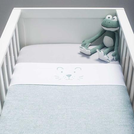 Jollein® Biancheria da letto per bambini Stone Green 140x100