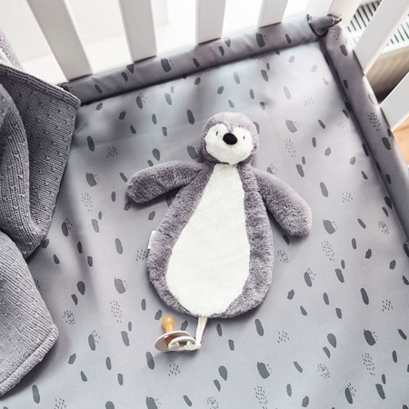 Jollein® Portaciuccio  Penguin Storm Grey