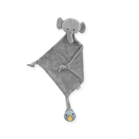 Immagine di Jollein®  Doudou e portaciuccio Elephant Storm Grey