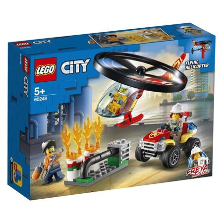 Immagine di Lego® City Elicottero dei vigili del fuoco in soccorso!