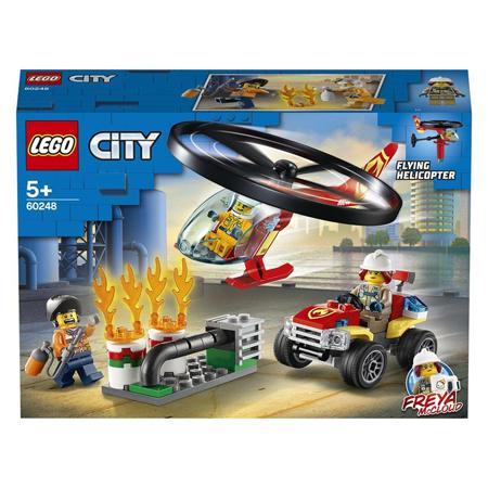 Lego® City Elicottero dei vigili del fuoco in soccorso!