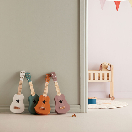Immagine di Kids Concept® Chitarra in legno Red