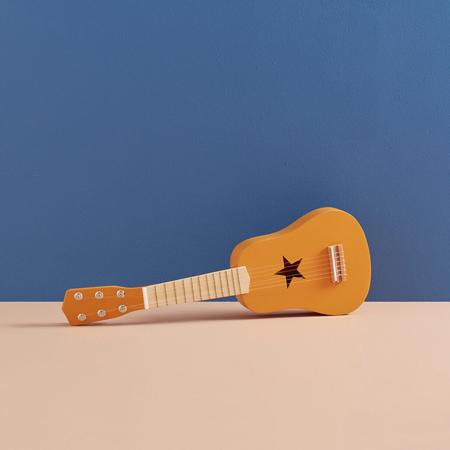 Kids Concept® Chitarra in legno Yellow