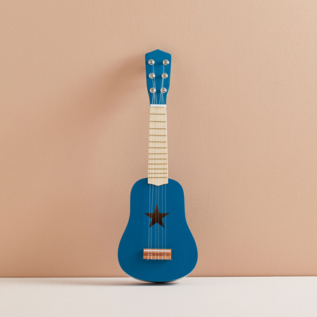 Kids Concept® Chitarra in legno Blue